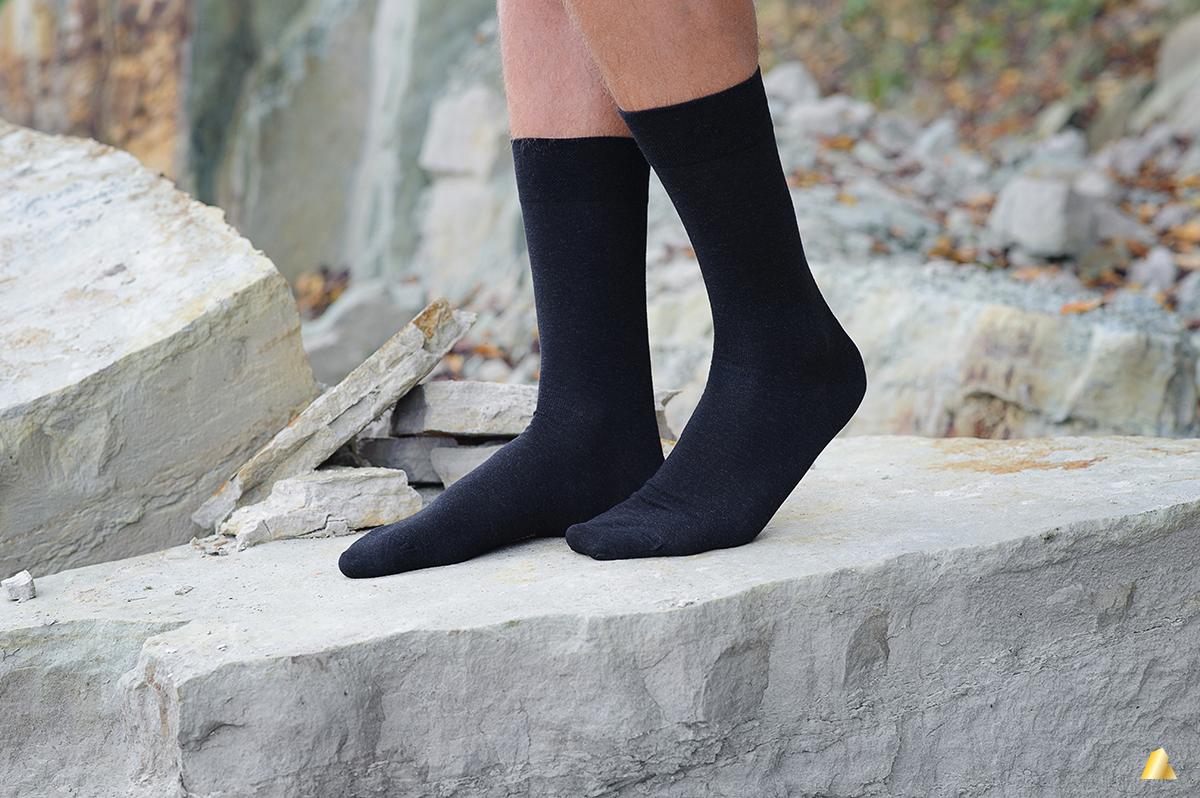 Rocksock silver mens socks