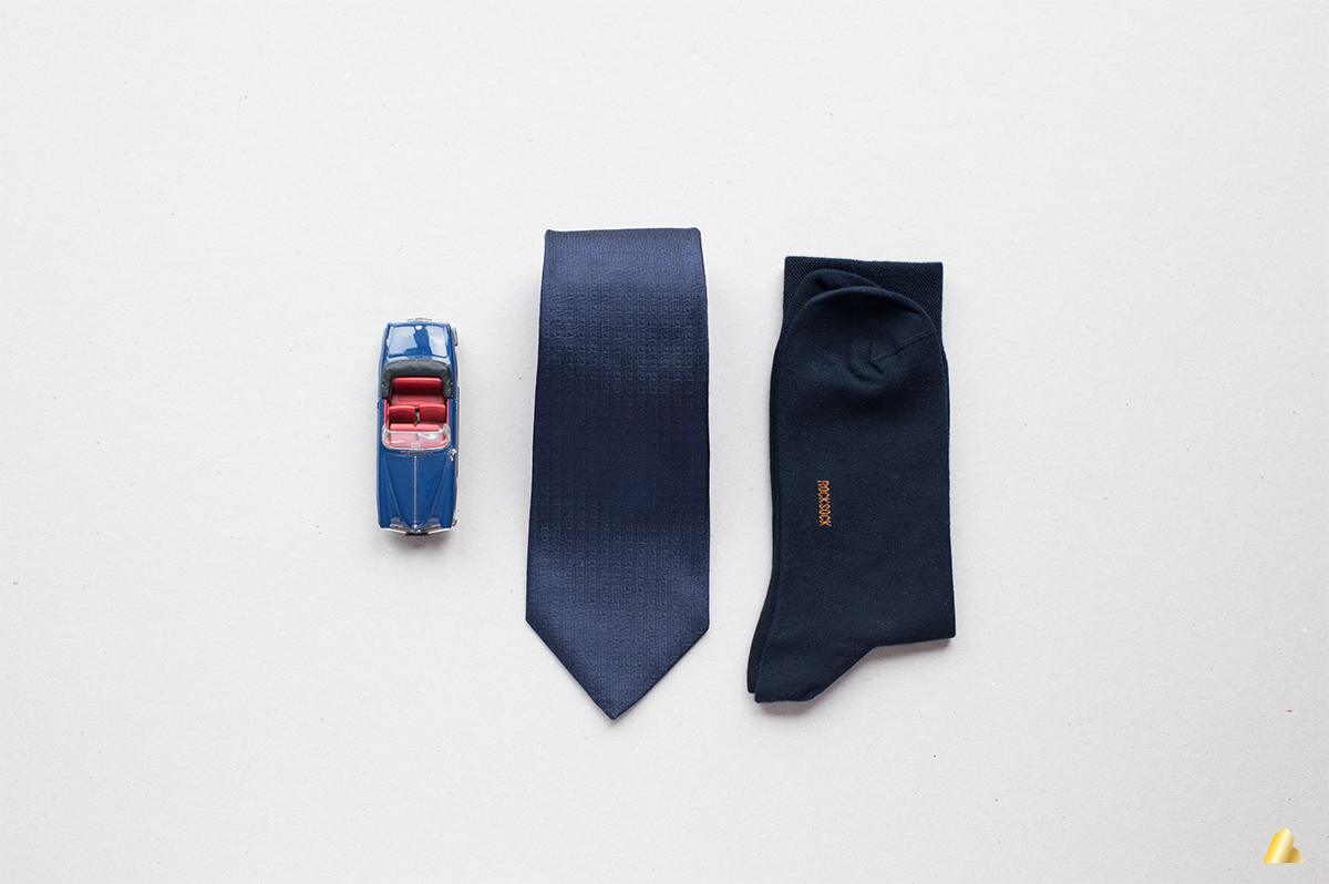 Rocksock mens classic socks navy blue outfit