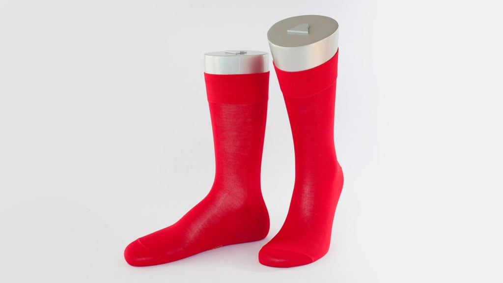 Rocksock casual socks marmolada red