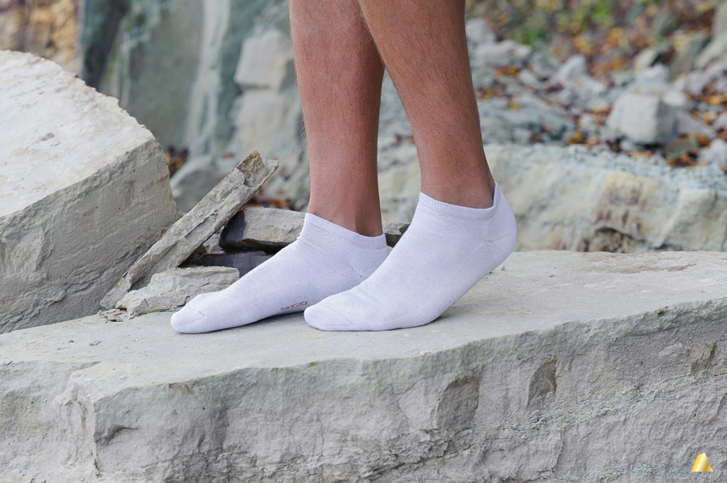 Rocksock silver athletic mens socks