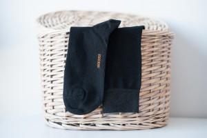 Rocksock mens socks combed cotton natural silver