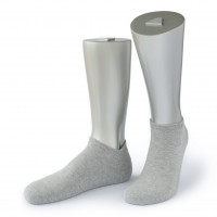 Rocksock athletic mens socks combed cotton grey melange