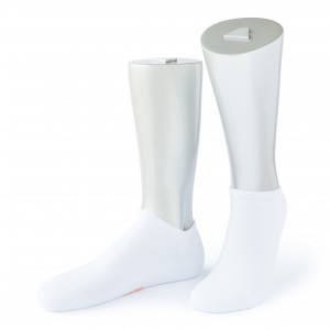 Rocksock athletic combed cotton socks michelis white