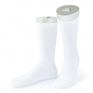 Rocksock athletic combed cotton socks rocca white