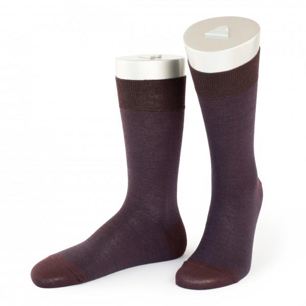 Rocksock casual socks merino wool pelvoux burgundy