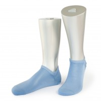 Rocksock casual sneaker socks mercerised cotton venezia blue