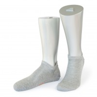 Rocksock casual sneaker socks mercerised cotton venezia grey melange