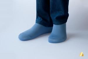 Rocksock casual socks marmolada blue lookbook