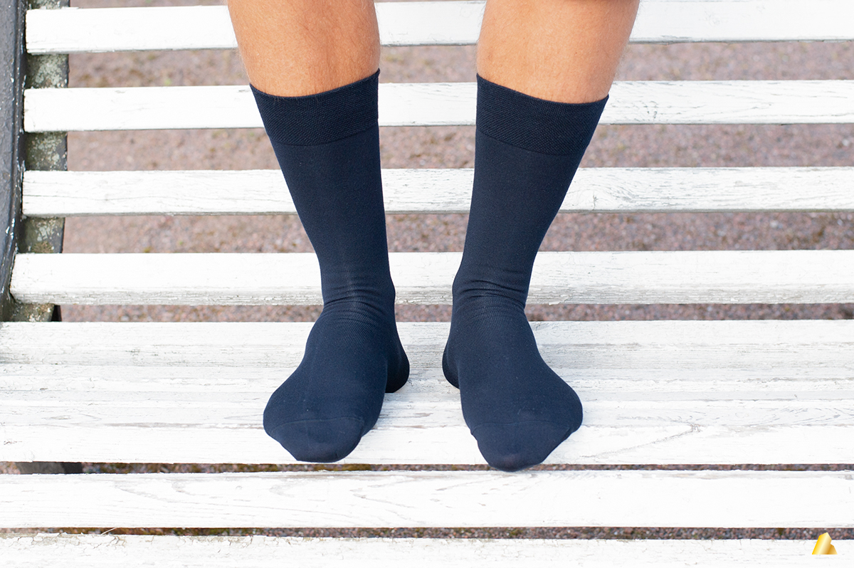Rocksock casual blue socks for gents