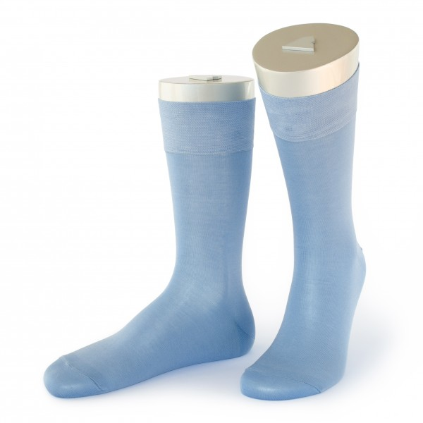 Rocksock casual socks mercerised cotton marmolada blue