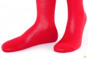 Rocksock casual socks mercerised cotton marmolada red