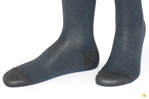 Rocksock casual socks mercerised cotton nible anthracite